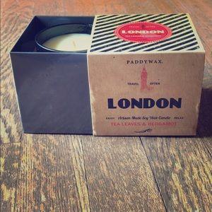 London tea leaves & bergamot Paddywax Candle